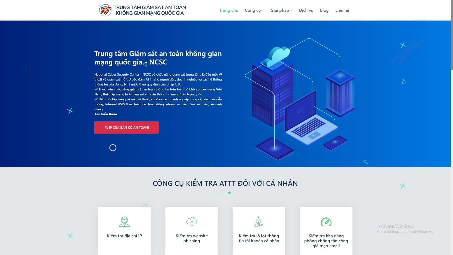 Khonggianmang.vn là website gì?
