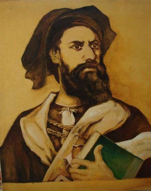 Chân dung nhà thám hiểm Marco Polo
